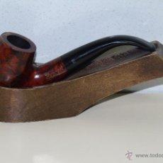 Pipas de fumar: PIPA DE FUMAR. MARCA EVEREST. MODELO LUXE 939. FABRICACIÓN ESPAÑOLA. Lote 45678499