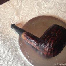 Pipas de fumar: PIPA MADERA TALLADA. Lote 56835305