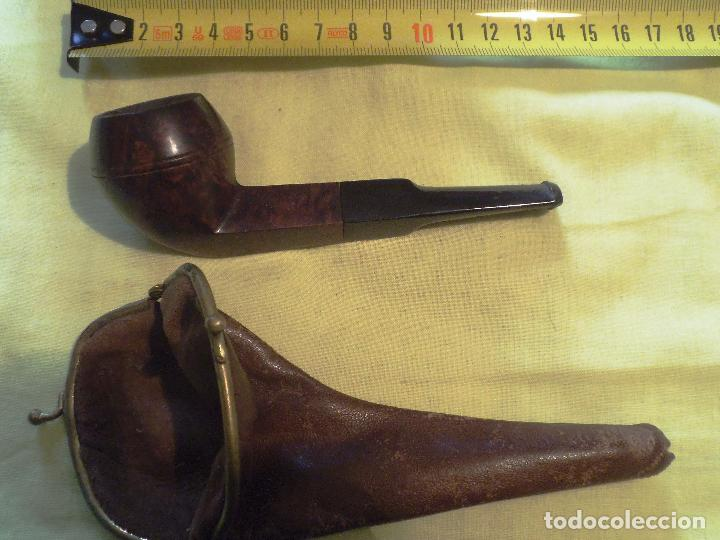 Pipas de fumar: PIPA CON FUNDA DE CUERO - Foto 4 - 73000931