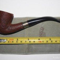 Pipas de fumar: SAVINELLI SILVER 611KS. ITALY. PIPA DE FUMAR. CON FUNDA. SIGLO XX. Lote 69504857