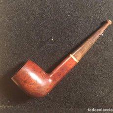 Pipas de fumar: BILLIARD BREZO Y BOQUILLA DE ASTA DE CIERVO. Lote 95346639