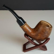 Pipas de fumar: PRINCIPE ALBERT. PIPA DE FUMAR EN MADERA DE BREZO. BOQUILLA DE EBONITA. 1970.. Lote 97271175