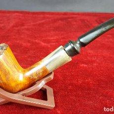 Pipas de fumar: SALVATELLA RAZA. 305. PIPA PARA FUMAR. MADERA DE BREZO. CIRCA 1970.. Lote 100731063