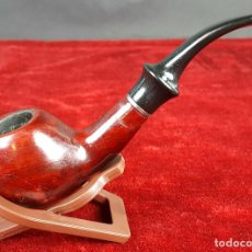 Pipas de fumar: PIPA PARA FUMAR. MADERA DE BREZO. BOQUILLA DE EBONITA. CIRCA 1970. . Lote 100895239