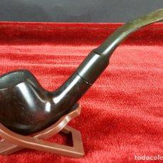 Pipas de fumar: PIPA PARA FUMAR. MADERA DE BREZO. BOQUILLA DE EBONITA. CIRCA 1970. . Lote 102299743