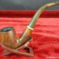 Pipas de fumar: SALVATELLA. COMET D'OR. PIPA PARA FUMAR. MADERA DE BREZO. ESPAÑA. CIRCA 1970. . Lote 102303591