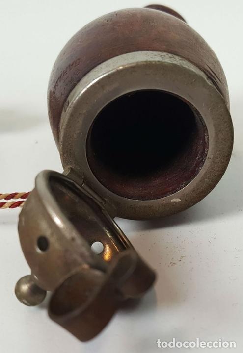 Pipas de fumar: PIPA PARA FUMAR DE 4 CUERPOS. MADERA DE BREZO. CIRCA 1970. - Foto 4 - 105233839