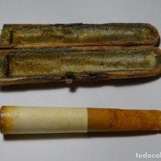 Pipas de fumar: ANTIGUA PIPA CON SU ESTUCHE. Lote 111311431