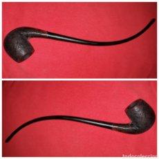 Pipas de fumar: PIPA LARGA CLIPPER MADE IN SPAIN. Lote 112931174