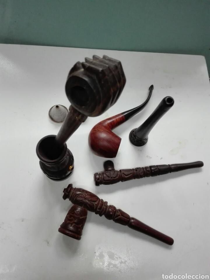Pipas de fumar: Lote de pipas y accesorios - Foto 2 - 114854055