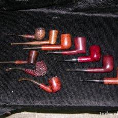 Pipas de fumar: F1 COLECCION DE 10 PIPAS DE DIVERSAS MARCAS. Lote 116120787