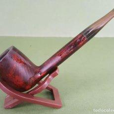 Pipas de fumar: SAVINELLI. CAPITOL BRUYERE. MADERA TALLADA. BOQUILLA DE EBONITA. CIRCA 1970.. Lote 195399735
