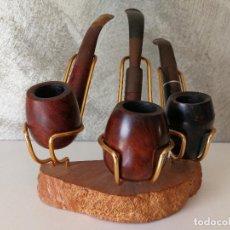 Pipas de fumar: LOTE PIPAS DE FUMAR CON EXPOSITOR SALVATELLA . Lote 118920347
