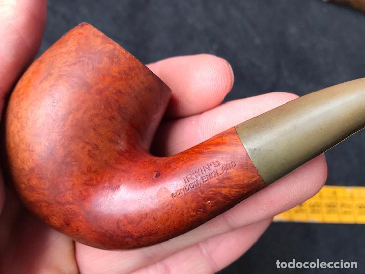 Pipas de fumar: pipa irwins london england - tabaco picadura - Foto 2 - 120154075