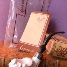 Pipas de fumar: PIPA DE CERAMICA LEONARDO - NUEVA - TABACO PICADURA. Lote 120335191