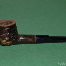 Pipas de fumar: PIPA DE FUMAR DE MADERA TALLADA. Lote 121559307