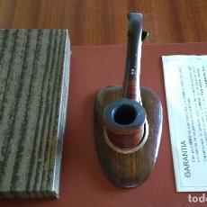 Pipas de fumar: PIPA BRIO Nº 649 HIGH CLASS BRIAR MADE IN SPAIN - CAJA Y FOLLETO. Lote 127676751
