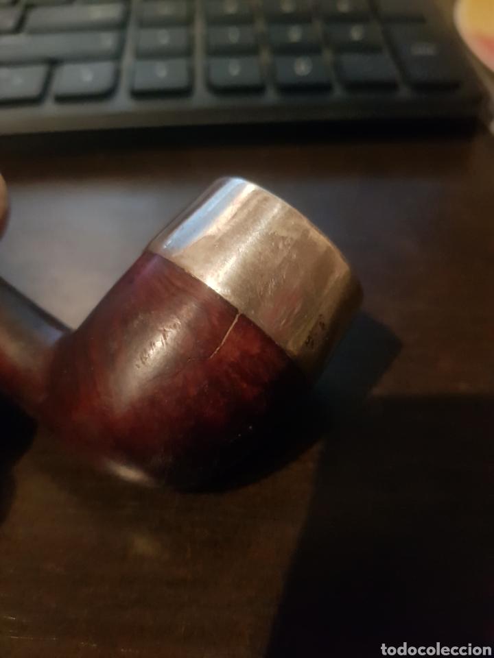 Pipas de fumar: Pipa de fumar Dunhill en plata modelo A 0 - Foto 5 - 128645826