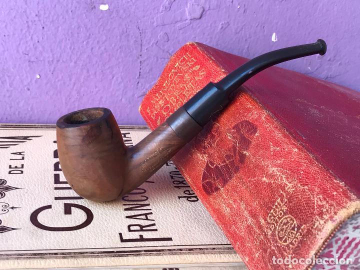 PIPA PARA FUMAR PUBLICIDAD DE SANITAS - TABACO PICADURA (Coleccionismo - Objetos para Fumar - Pipas)
