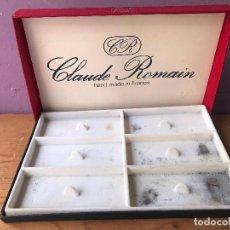 Pipas de fumar: CAJA VACIA DE EXPOSICION DE PIPAS CLAUDE ROMAIN. Lote 131070576