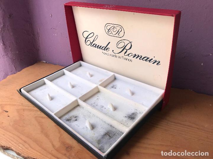 Pipas de fumar: Caja vacia de exposicion de pipas Claude Romain - Foto 2 - 131070576