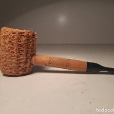 Pipas de fumar: UNA PIPA SUMAMENTE DIFERENTE - AUTENTICA CORN COB, PIPA DE MAZORCA DE MAIZ, DE PUBLICIDAD !. Lote 139714046