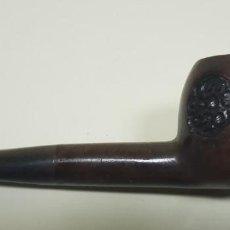 Pipas de fumar: J- ANTIGUA PIPA TALLADA A MANO SIN MARCA N4. Lote 143804022