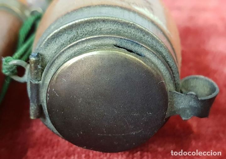 Pipas de fumar: PIPA PARA FUMAR DE 3 CUERPOS. MADERA DE BREZO TALLADA. CIRCA 1970. - Foto 6 - 148770146