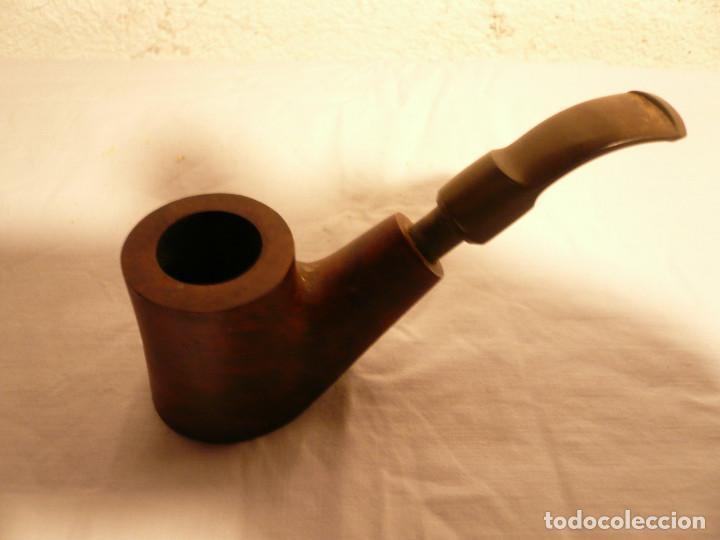Pipas de fumar: PIPA. LOTE DE TRES: 2 FRANCESAS Y 1 INGLESA. MARCA ST. CLAUDE Y FALCON. LEER DESCRIPCIÓN - Foto 4 - 154444758
