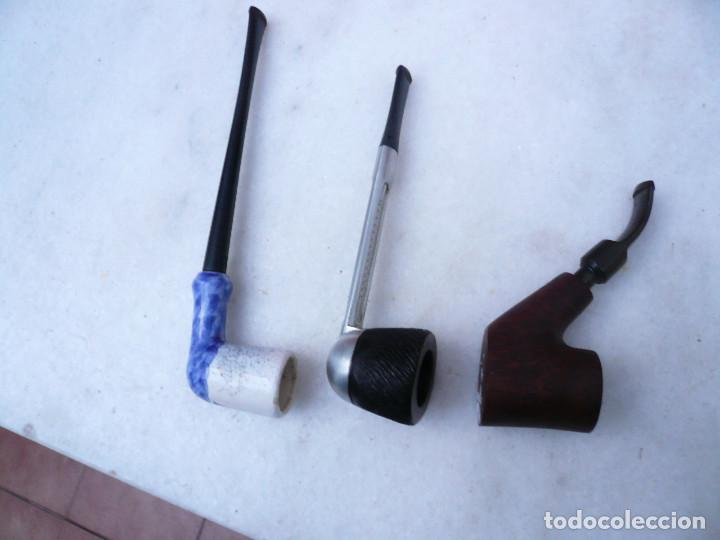 Pipas de fumar: PIPA. LOTE DE TRES: 2 FRANCESAS Y 1 INGLESA. MARCA ST. CLAUDE Y FALCON. LEER DESCRIPCIÓN - Foto 15 - 154444758