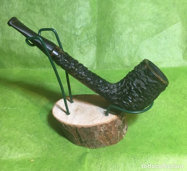 CANADIENSE RUSTICADA -BOSTON- (Coleccionismo - Objetos para Fumar - Pipas)