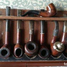 Pipas de fumar: LOTE DE 8 PIPAS. Lote 158751190