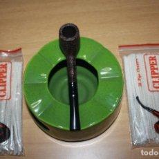 Pipas de fumar: PIPA DE FUMAR CLIPPER HIGH CLASS BRIAR IBERPIPSA . NUEVA SIN USAR. Nº 566 RUGOSA. Lote 174373922
