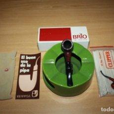 Pipas de fumar: PIPA DE FUMAR BRIO HIGH CLASS BRIAR IBERPIPSA . NUEVA SIN USAR. MODELO 302. Lote 163307174