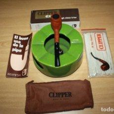 Pipas de fumar: PIPA DE FUMAR CLIPPER EXTRA HIGH CLASS BRIAR IBERPIPSA . NUEVA SIN USAR.Nº 990. Lote 163307250