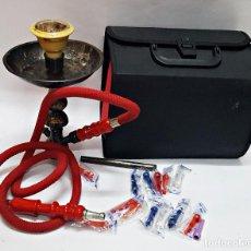 Pipas de fumar: MALETIN CON NARGUILE+ACCESORIOS PERO INCOMPLETA.. Lote 168629344