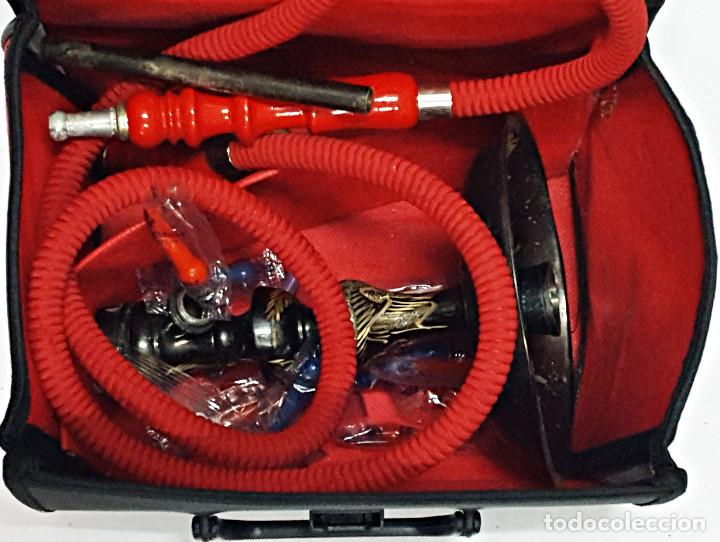 Pipas de fumar: Maletin con NARGUILE+Accesorios pero incompleta. - Foto 6 - 168629344
