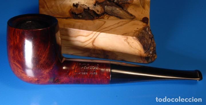 Pipas de fumar: Pipa vintage restaurada marca Dr Plumb, billiard. BPC005 - Foto 3 - 169853308