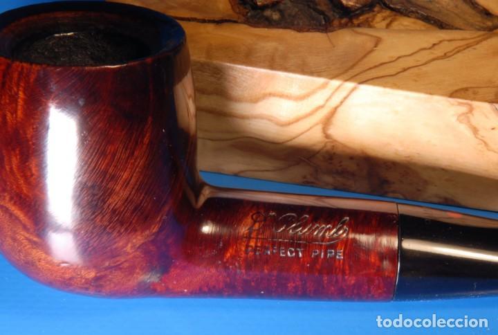 Pipas de fumar: Pipa vintage restaurada marca Dr Plumb, billiard. BPC005 - Foto 4 - 169853308