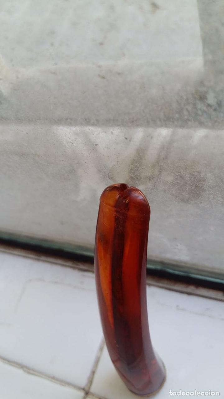 Pipas de fumar: ANTIGUA BOQUILLA EN AMBAR Y ORO DE 18 KILATES EN CAJA ORIGINAL - Foto 11 - 170226452