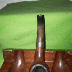 Pipas de fumar: ÚNICA EN TODOCOLECCION PIPA PETERSONS SHERLOCK HOLMES STERLING SILVER. Lote 172396633