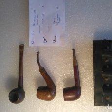 Pipas de fumar: PIPAS INGLESAS VINTAGE THE EVERYMAN PIPE, GOLDEN ARC, STRAND. Lote 174250940