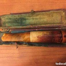 Pipas de fumar: BONITA PIPA FABRICADA POR VERITABLE ECUME. CON SU CAJA ORIGINAL. USADA.. Lote 175530739