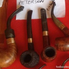 Pipas de fumar: LOTE DE 4 PIPAS PETERSON. Lote 172752365
