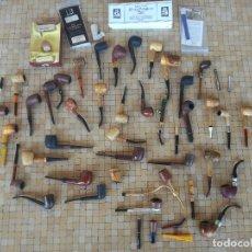 Pipas de fumar: GRAN LOTE DE PIPAS Y ACCESORIOS PARA FUMAR PIPAS VARIADAS - EN BUEN ESTADO. Lote 182178070