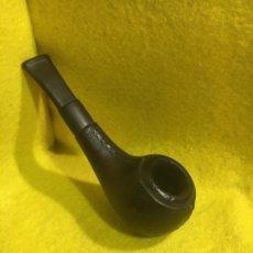 Pipas de fumar: APPLE - FORRADA DE CUERO -. Lote 182888635