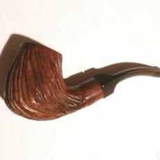 Pipas de fumar: PIPA PARA TABACO TALLADA. Lote 182969411