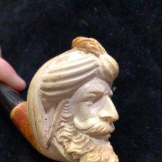 Pipas de fumar: ANTIGUA PIPA DE FUMAR ESPUMA DE MAR - MEDIDA 13X5,5 CM. Lote 185980466