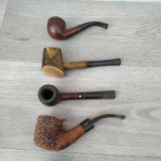 Pipas de fumar: LOTE DE PIPAS. Lote 190720482