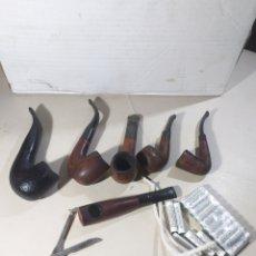 Pipas de fumar: LOTE DE 6 PIPAS Y ACCESORIOS,PRINCIPE ALBERT ,MINI, COGRS..... Lote 191360597